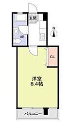 小桜ビル[3階]の間取り