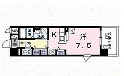 埼玉県越谷市レイクタウン8丁目の賃貸マンションの間取り