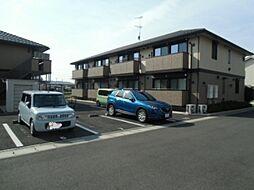 千葉県野田市山崎新町の賃貸アパートの外観
