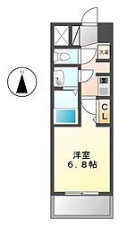 プライムアーバン鶴舞[13階]の間取り