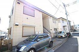 神奈川県横浜市保土ケ谷区岩井町の賃貸アパートの外観