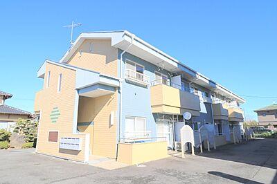 外観,2DK,面積34.65m2,賃料4.0万円,JR常磐線 水戸駅 4km,,茨城県水戸市住吉町
