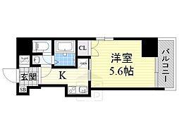 VERDE EBISU[2階]の間取り