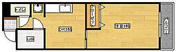 広島県広島市南区段原南2丁目の賃貸マンションの間取り