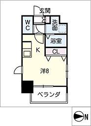 S−RESIDENCE千種[5階]の間取り