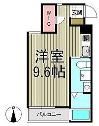 Eau-Rouge鎌倉[305号室]の間取り