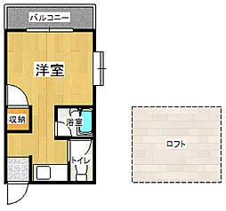 ソフィー21長浜[3階]の間取り