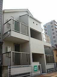 神奈川県横浜市神奈川区浦島町の賃貸アパートの外観