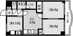 サンモール1番館A棟[1階]の間取り