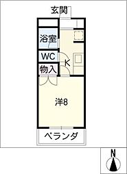 DAIMANHOUSE昭和橋[3階]の間取り