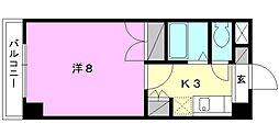 ジョイフル第5中村[411 号室号室]の間取り