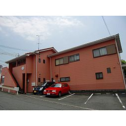 静岡県浜松市中区上島5丁目の賃貸アパートの外観
