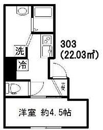 新築 Jure Kagurazaka[303号室号室]の間取り