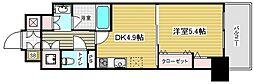 レジディア神戸磯上[5階]の間取り