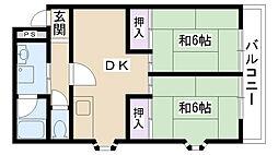 せんちゅりーみしま[306号室]の間取り
