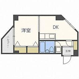 ステージ13[4階]の間取り