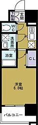 大阪府大阪市西区九条南3の賃貸マンションの間取り