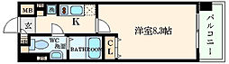 ビバーチェ鷺洲[4階]の間取り