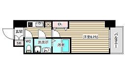 W-STYLE福島2ウィステリア[2階]の間取り