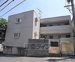 京都府京都市西京区御陵北山町の賃貸マンションの外観