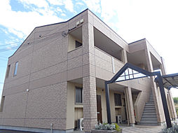 兵庫県加東市南山の賃貸アパートの外観