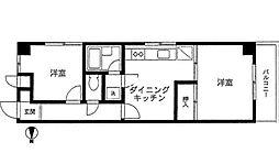 ライフハウスナカムラ[2階]の間取り