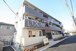 岡山県岡山市南区福富中1丁目の賃貸アパートの外観
