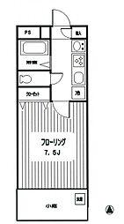 ホーヨー東京レジデンス四谷3丁目[105号室号室]の間取り