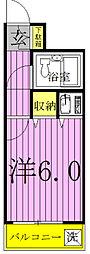千葉県柏市常盤台の賃貸マンションの間取り