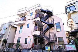 千葉県流山市鰭ケ崎の賃貸マンションの外観