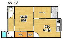[テラスハウス] 大阪府泉南市男里4丁目 の賃貸【/】の間取り