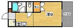 クレール長尾台[1階]の間取り