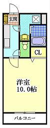 ユートピアマツバラ[2階]の間取り