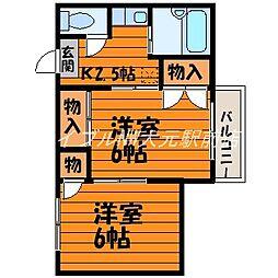 サンシャイン・ミヤケ[1階]の間取り