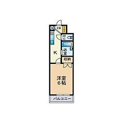 マンションサーパス[3階]の間取り