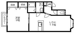 ウェルネス02[1階]の間取り