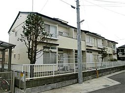 千葉県流山市江戸川台西3丁目の賃貸アパートの外観