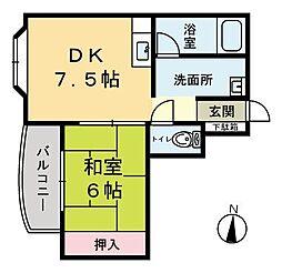 メゾンドフォーライフ[3階]の間取り