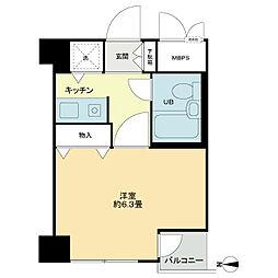 ライオンズマンション一高前第2[3階]の間取り