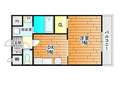 カーサ・コル[3階]の間取り
