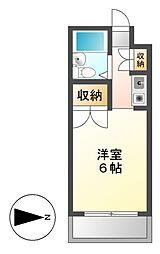 メゾン・ド・セゾン[2階]の間取り