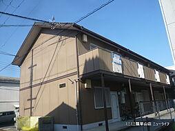 大阪府東大阪市菱江2丁目の賃貸アパートの外観