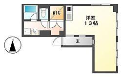 丸の内パークマンション[3階]の間取り