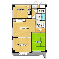 Ville Maison Kasai[10階]の間取り