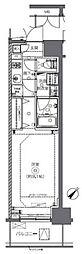 JR総武本線 馬喰町駅 徒歩2分の賃貸マンション 5階1Kの間取り