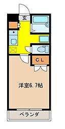 広島県呉市広石内2丁目の賃貸アパートの間取り