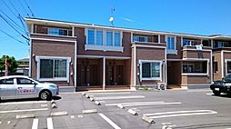 鹿児島県姶良市西宮島町の賃貸アパートの外観