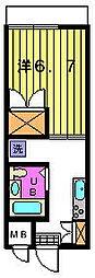 第三カトレアハイツ[3-B号室]の間取り