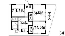 [一戸建] 大阪府池田市石橋3丁目 の賃貸【/】の間取り