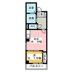 エテルノ幅下[2階]の間取り